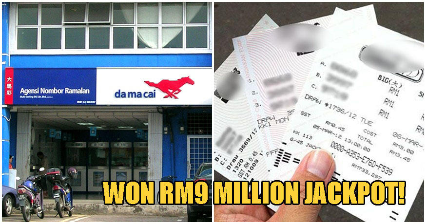Penang Lorry Driver Bet On The Same Numbers For 3 Years, Finally Wins RM9 MILLION Jackpot - WORLD OF BUZZ