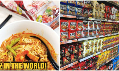 Penang White Curry Noodles Beats Out Shin Ramyun As The 2nd Tastiest Instant Noodles in The World - WORLD OF BUZZ