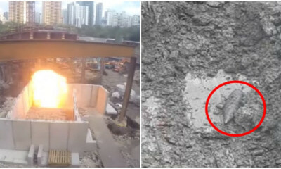 WW2 Aerial Bomb Discovered Right Above Old Zouk Singapore Building, Residents Freak Out - WORLD OF BUZZ