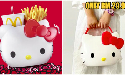 Quick! The Limited Edition Hello Kitty Carrier Is Coming To McDonald's Malaysia This Week On The 27th! - WORLD OF BUZZ 1