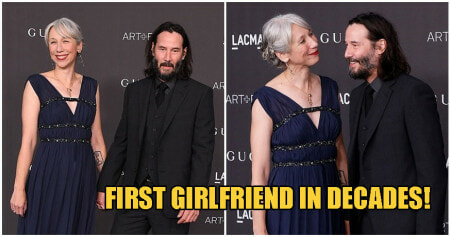 Sad Keanu Is No More After Keanu Reeves Steps Out With First Girlfriend In Over 20 Years! - WORLD OF BUZZ