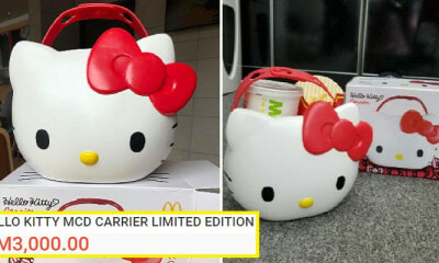 Scalpers In M'sia Are Selling The Mcdonald's Hello Kitty Carrier Online For Prices Up To Rm3,000 - World Of Buzz 9