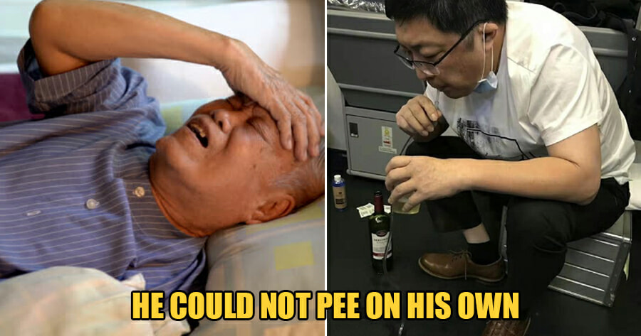 Selfless Doctor Saves Old Man's Life by Sucking 800ml of Urine Out of His Bladder for 37mins - WORLD OF BUZZ