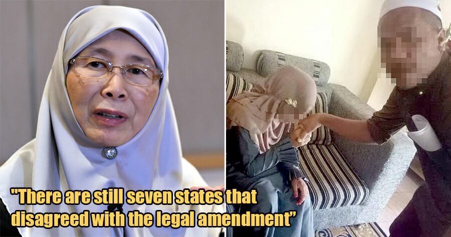 Seven States in Malaysia Will Not Ban Child Marriage, Says Dr Wan Azizah - WORLD OF BUZZ 1