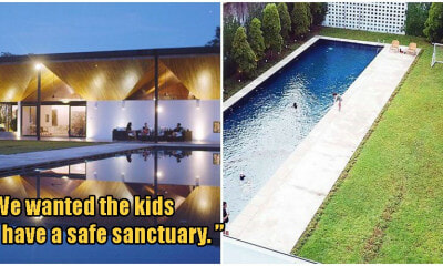 SG Family Moves To Johor, Builds 43,000 sqft Mansion Complete With Pool & Football Field - WORLD OF BUZZ
