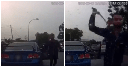 Singaporean Road Rage Witness Taxi Driver Going Berserk At Another Road User - WORLD OF BUZZ