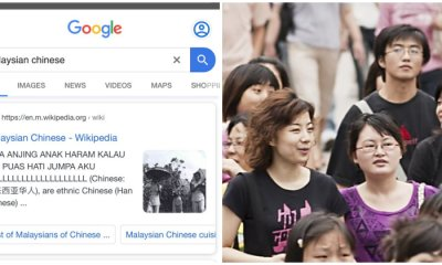 "Someone Vandalised the Wikipedia Page About ""Malaysian Chinese"" & Called Them Haram - WORLD OF BUZZ"