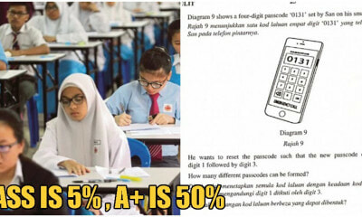 "SPM Students Petition For Add Math Paper Passing Mark To Be 5%, ""A+"" To Be 50% - WORLD OF BUZZ 4"