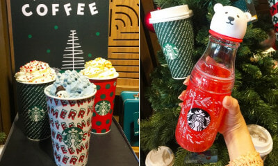 Starbucks M'sia New Holiday Collection Out on Nov 5 Is Adorned with Super Cute Polar Bears & Penguins! - WORLD OF BUZZ 15