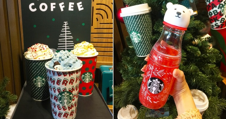 Starbucks M Sia New Holiday Collection Out On Nov 5th Is Adorned With Super Cute Polar Bears Penguins World Of Buzz