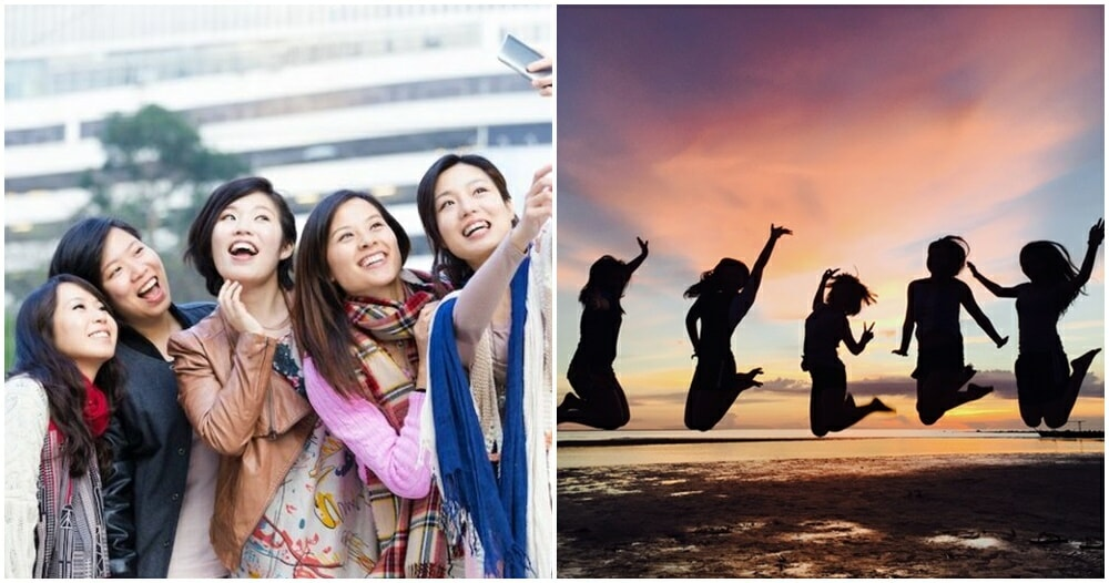 Study: Traveling With Your Girlfriends Can Increase Life Expectancy & Boosts Happiness! - WORLD OF BUZZ 4