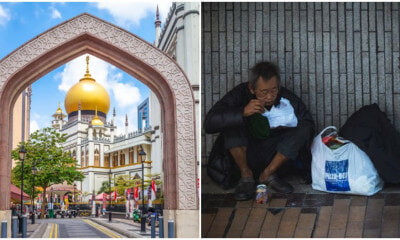 Sultan Mosque Gives Home To The Homeless, Provides Beds, Pillows & Bottled Water! - WORLD OF BUZZ 5