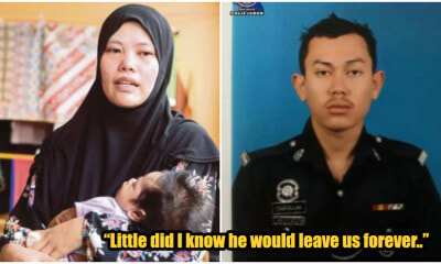 """Take Care of Your Mum,"" M'sian Policeman's Heartbreaking Last Words To 2-Month-Old Baby - WORLD OF BUZZ"