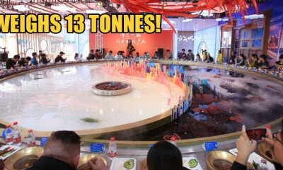 The World's Largest Hotpot Can Hold 2,000kg Seasoning & Fit 56 People At The Same Time! - WORLD OF BUZZ 3