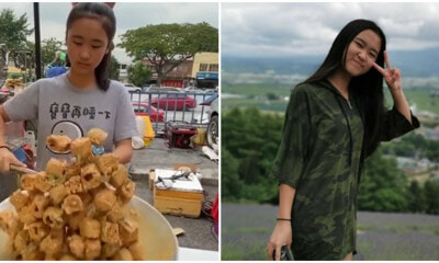 This 14yo M'sian Girl Is Going Viral For Her Incredible Cooking Skills At A Pasar Malam Stall! - WORLD OF BUZZ