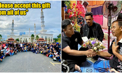 Thousands Of Mat Rempit In Kelantan Collectively Donated 25K To Single Father Of 3 OKU Children - WORLD OF BUZZ