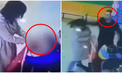 Video: Brave Dad Punches & Slaps Abusive Nanny Who Smothered His Daughter's Head With Apron - WORLD OF BUZZ