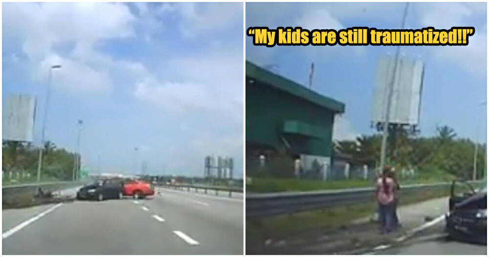 Video: Kids Get Thrown Out Of Vehicle When Car Rams To The Side For No Apparent Reason - WORLD OF BUZZ