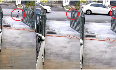Video: M'sian Kid Was Cycling Outside His House, Horrifically Knocked Down By Car - WORLD OF BUZZ