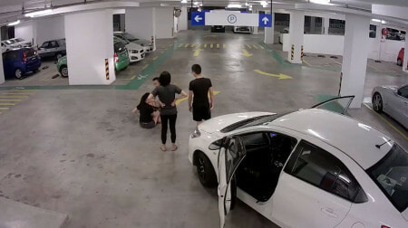 Watch: M'sian Lawyer Knocked Down A Woman With His Car But Pretended That He Was Innocent - World Of Buzz 1