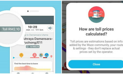 Waze Can Now Show You How Much You Have To Pay For Tolls Nationwide! - WORLD OF BUZZ 1