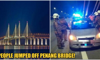 2 Men Suspect to Have Jumped Off Penang Bridge on 30th & 31st Dec - WORLD OF BUZZ 5