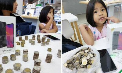 2 Young Sisters Save Their Pocket Money To Buy Mobile Phone Instead Of Asking Parents to Pay - WORLD OF BUZZ