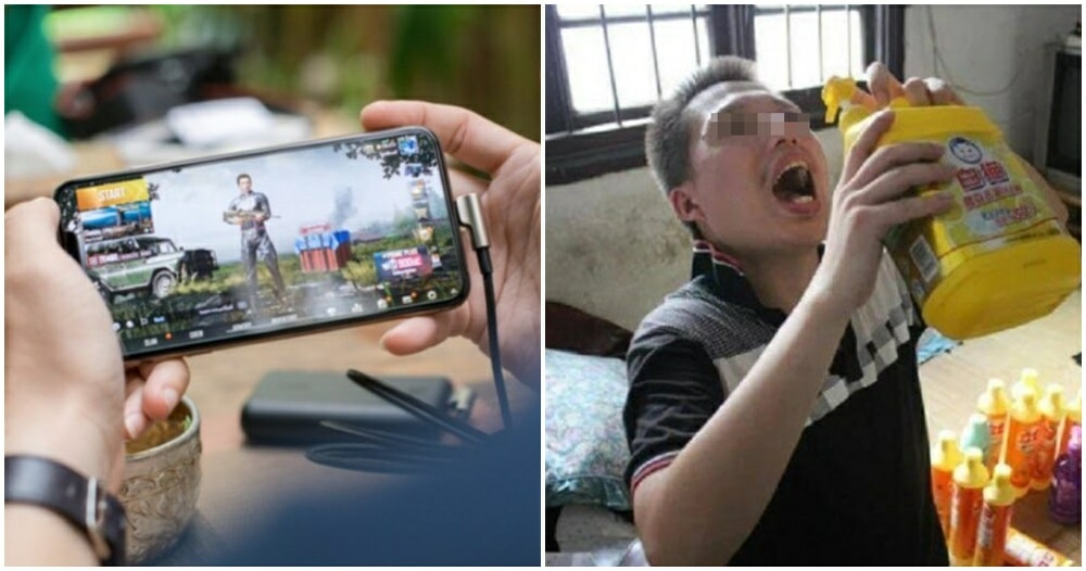 20yo Man Dies After He Mistakenly Drinks Detergent As He Was Too Focused On Playing PUBG - WORLD OF BUZZ
