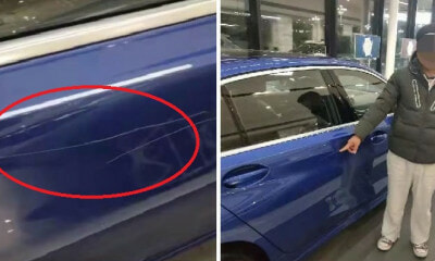 22yo Spoilt Man-Child Scratches New BMW In Showroom To Force Father to Buy It For Him - WORLD OF BUZZ 3