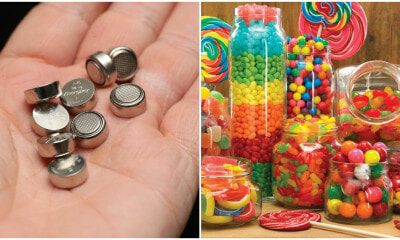 2yo Swallows 20 Button Batteries As She Thought They Were Candy, Almost Dies - WORLD OF BUZZ
