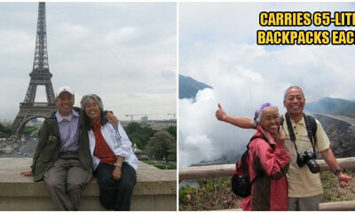 71yo Husband & 68yo Wife Retires & Backpacked To Over 40 Countries Around The World Together! - WORLD OF BUZZ 1