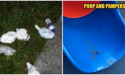 Parents Littered Diapers All Over Newly Opened Taman Tasik Titiwangsa, Left Poop All Over Slides - WORLD OF BUZZ