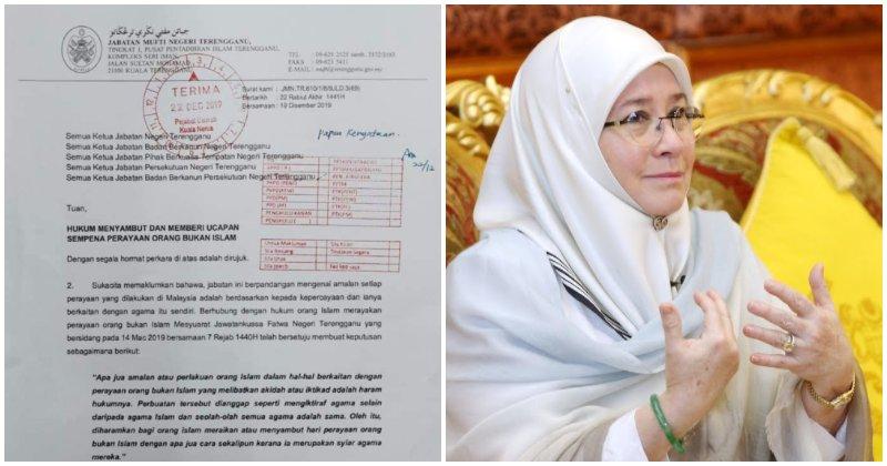 M'sian Netizen Wrongfully Calls Out Raja Permaisuri Agong For Wishing Christians A Merry Christmas - World Of Buzz