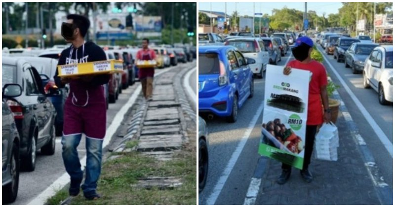 Terengganu to Fine Traffic Light Food Sellers, Netizens Believe They Should Be Allowed To Sell - WORLD OF BUZZ