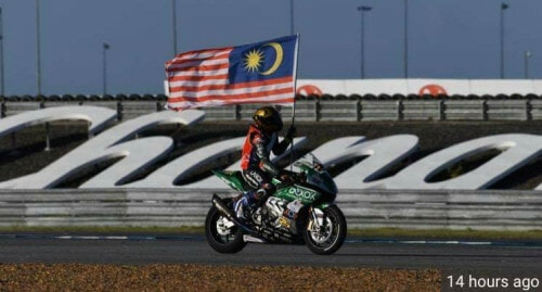 All Malaysian Crew Superbike Team Just Won The Asian Championship Against Bigger Competitors - WORLD OF BUZZ 1