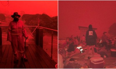 Aussie Skies Turn 'Apocalyptic' Blood Red As Thousands Flee From Uncontrollable Bush Fires - WORLD OF BUZZ
