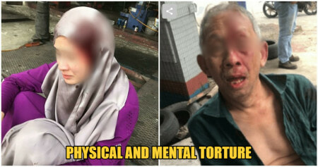 Bintulu Husband Abuses Wife by Tying a Metal Chain Around Her NECK and Prevents Her From Escaping - WORLD OF BUZZ 4