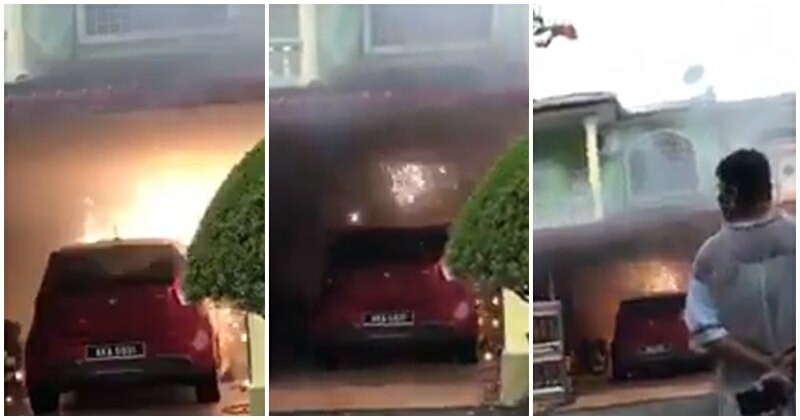 Bomba Arrives At The Scene Of A House Short Circuit-ing, Netizens Inform That Only TNB Is Authorized To Shut Down Power Outlet - WORLD OF BUZZ 1
