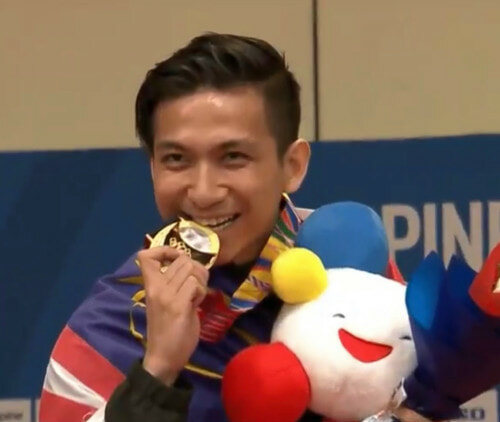 Choon How Wins Malaysia's First Gold At SEA Games 2019 - WORLD OF BUZZ 2