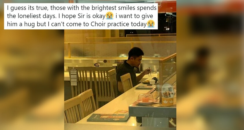 """Eating Alone Doesn't Mean You're LONELY"", Say Netizens to M'sian Who Posted About Teacher - WORLD OF BUZZ"