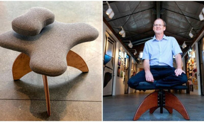 Finally! A Legit Reason To Sit Cross-legged On A Chair During Work Hour - WORLD OF BUZZ 2
