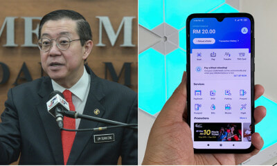 Finance Minister: Government Is Testing An E-Wallet System Named E-Tunai Rakyat - WORLD OF BUZZ 5