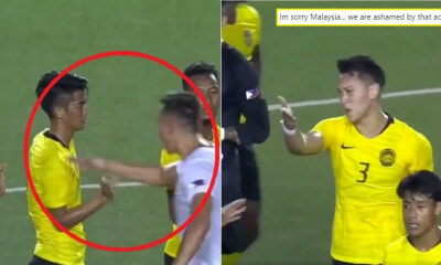 Filipino Athlete's Rude Behaviour To M'sian Footballers In SEA Games Goes Viral - WORLD OF BUZZ