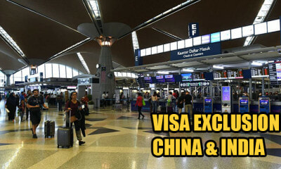 Govt Announces VISA Exclusion For China & India Tourists With Strict Requirements - WORLD OF BUZZ 2