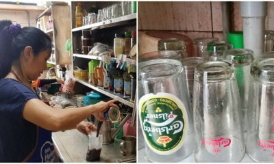 Hawker Summoned For Serving Drinks To Her Customers Using Cups With Beer Logo - WORLD OF BUZZ 4