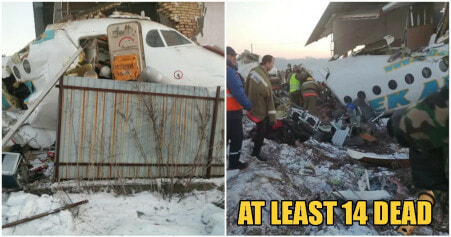 Horrific Kazakhstan Passenger Plane Crash With Over 100 People Onboard Leaves 14 Dead, Death Toll Rising - WORLD OF BUZZ 2