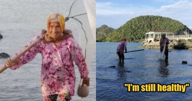 Inspiring 104yo Fisherwoman from Langkawi Insists to Catch Fish and Sell Homemade Belacan for a Living - WORLD OF BUZZ