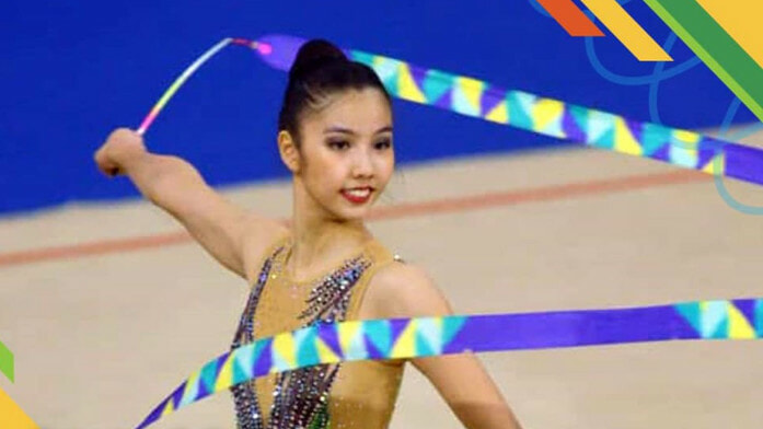 Malaysia Team Wins First Three Golds in Rhythmic Gymnastics at SEA Games 2019! - WORLD OF BUZZ 2