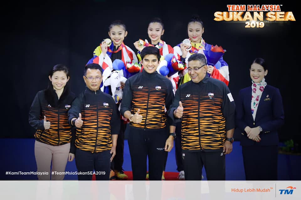 Malaysia Team Wins First Three Golds in Rhythmic Gymnastics at SEA Games 2019! - WORLD OF BUZZ 3