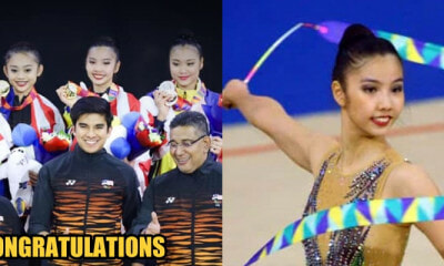 Malaysia Team Wins First Three Golds in Rhythmic Gymnastics at SEA Games 2019! - WORLD OF BUZZ 5